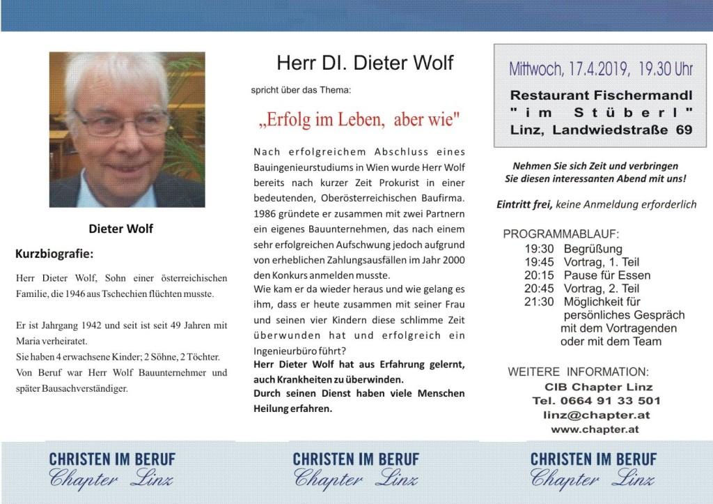 2019 04 Dieter Wolf Linz S2